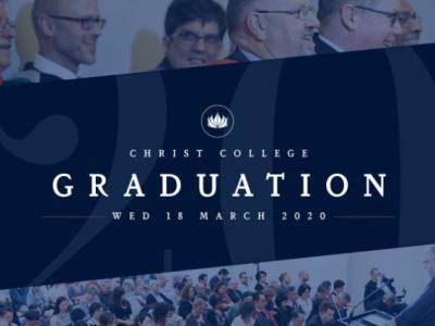 Christ College Graduation 2020